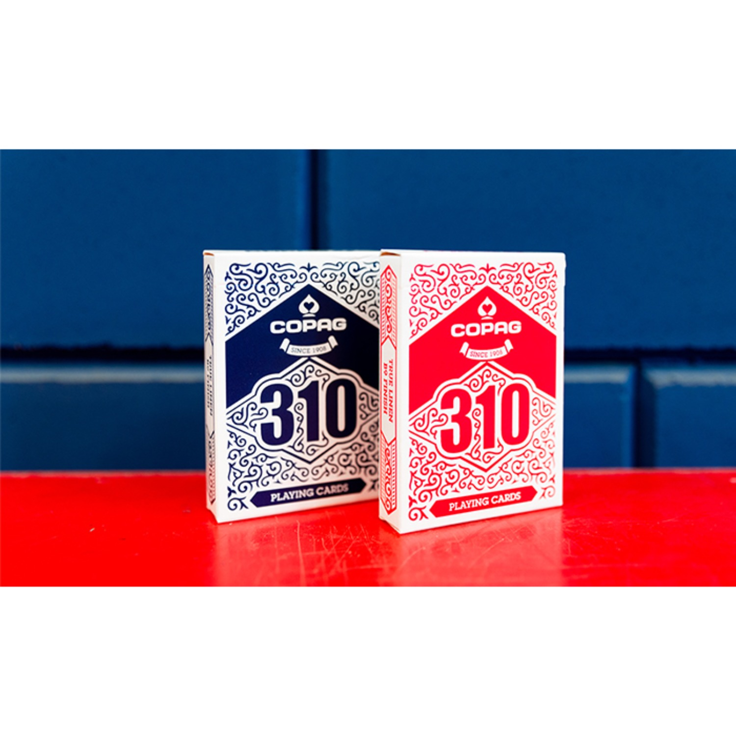 [코팩310 슬림라인]COPAG 310 SlimLine Playing Cards (Blue/Red)