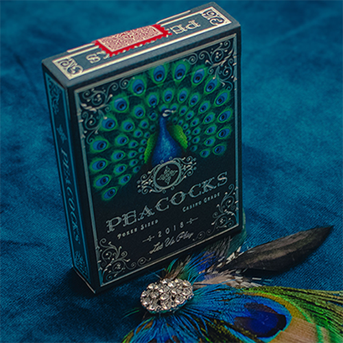 [한정판: 피코크덱]Limited Edition Peacocks Playing Cards by Rocsana Thompson