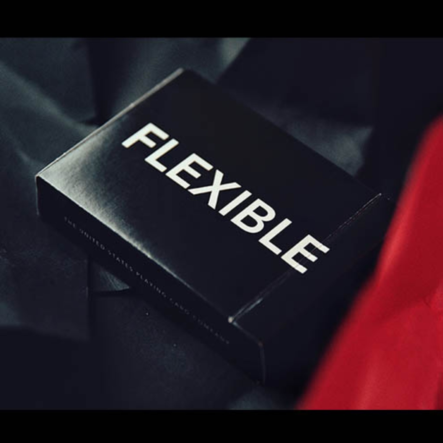 [플렉시블/블랙]FLEXIBLE (Black) Playing Cards by TCC