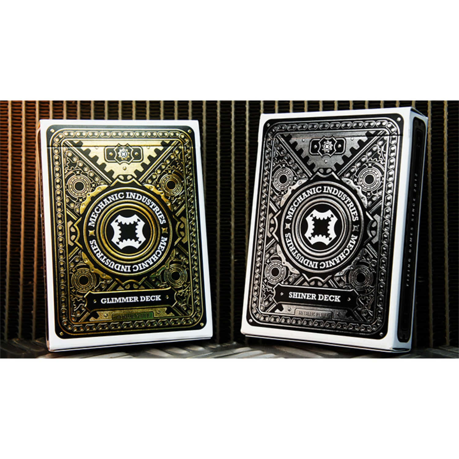 블랙프라이데이 예약세일!!! [메탈릭덱 셋트]Metallic Deck Set (Limited Edition) by Mechanic Industries